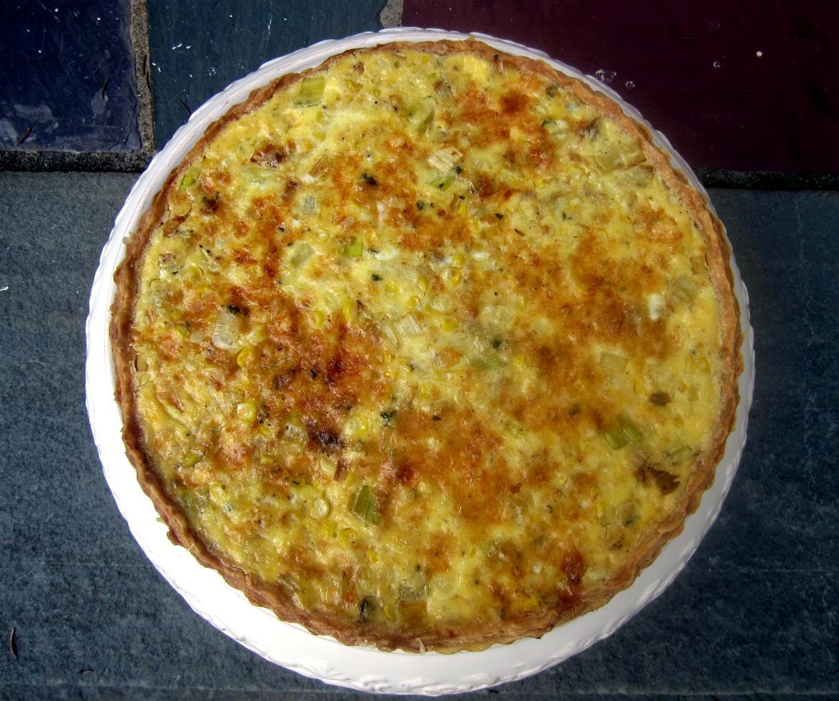 Quiche crust convictions 729 layers for Luxury quiche