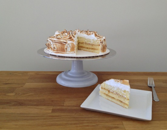 Lemon Cream layer