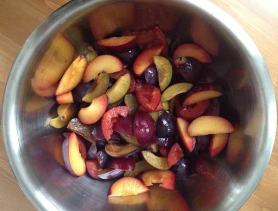 rainbow plums
