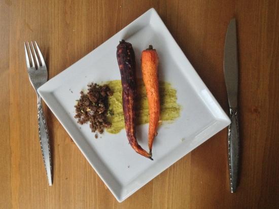 carrot pistachio