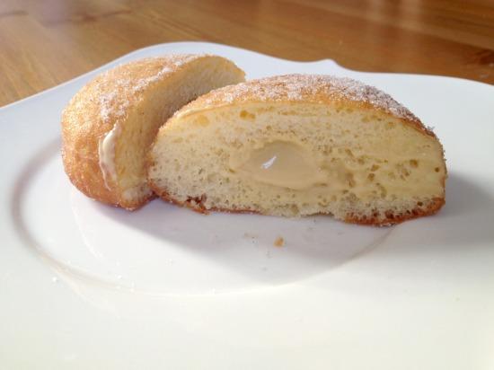 cream donut cross section