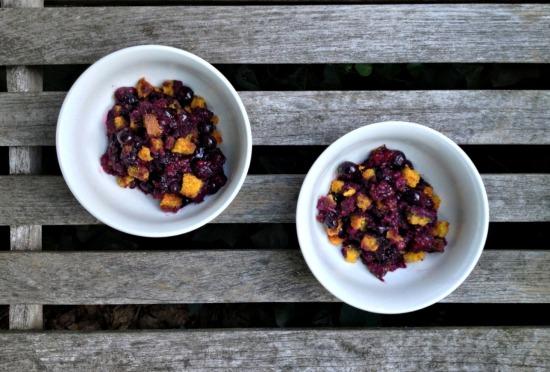 blueberry corn