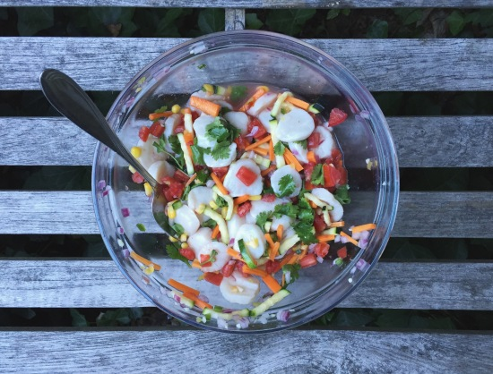 Vegetable Ceviche