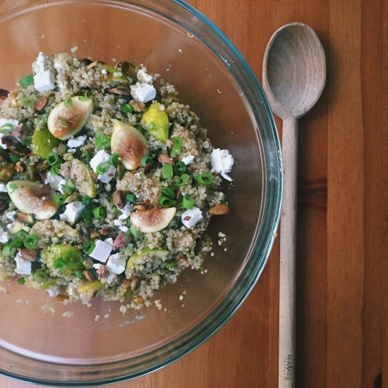 quinoafigsalad
